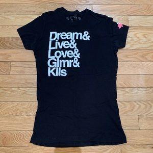 Glamour Kills (GLMR KLLS) Dream Live Love Tshirt